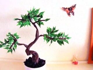 Bonsai Origami Tree