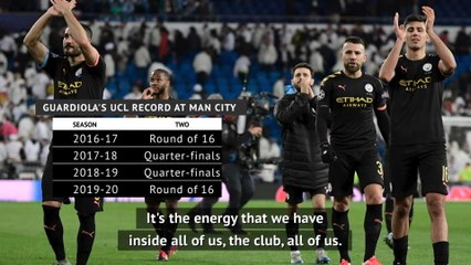 Guardiola warns Man City players must have 'hunger' to overcome Real Madrid