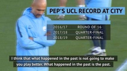 Past Champions League pain is no motivation to succeed - Guardiola