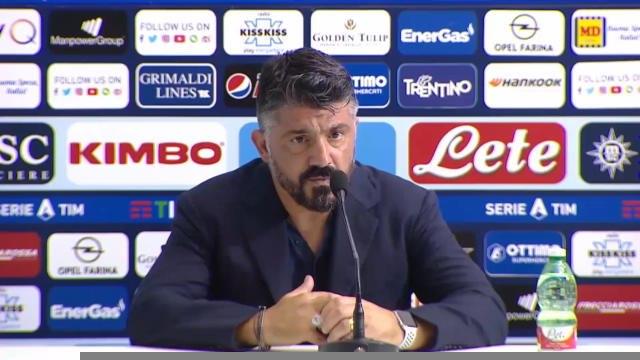 """Naples - Gattuso : """"Nous faisons confiance à l'UEFA"""""""