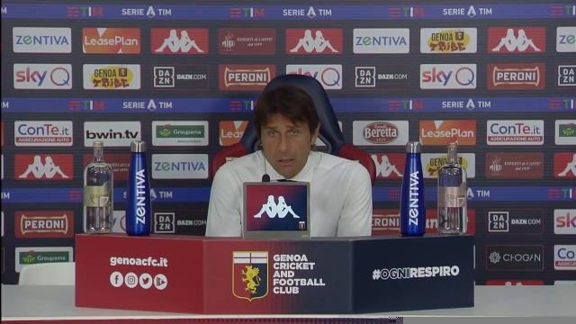 """36e j. - Conte : """"Lukaku est un joueur atypique"""""""