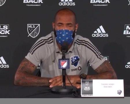 "Montreal Impact - Henry : ""Fier de mes joueurs"""