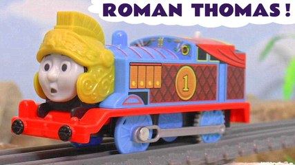 Thomas and Friends Digs and Discoveries Roman Thomas Prank and Accident with the Funny Funlings in this Family Friendly Full Episode English Toy Story for Kids from Kid Friendly Family Channel Toy Trains 4U