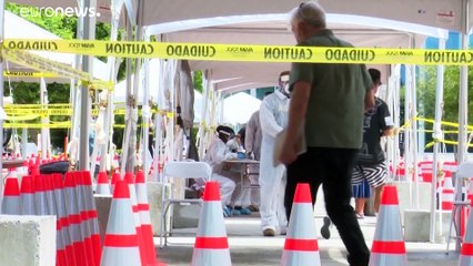 Corona-Lage weltweit: WHO meldet Rekord, Nordkorea ersten Verdachtsfall