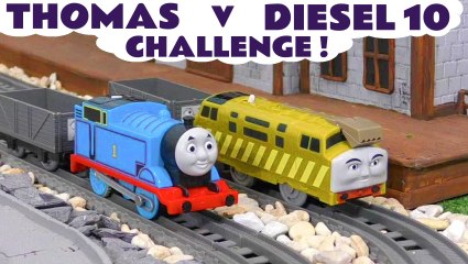 Thomas and Friends Minis Blind Bags Opening versus Diesel 10 with the Funny Funlings in this Family Friendly Full Episode English Toy Story for Kids