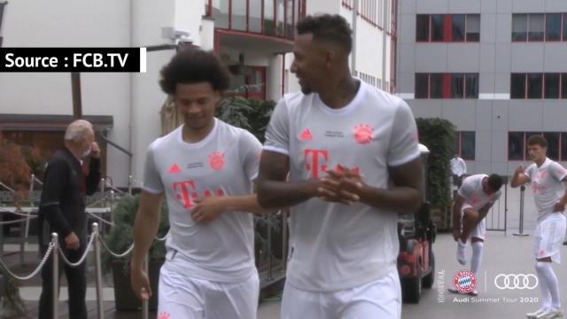 Bayern - Sané à l'entraînement avant de retrouver l'OM