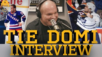 Spittin' Chiclets Interviews Tie Domi - Full Video Interview