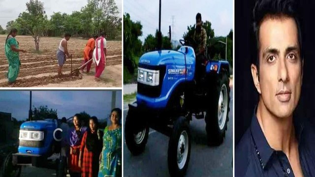 Sonu Sood Help to AP Farmer With Tractor
