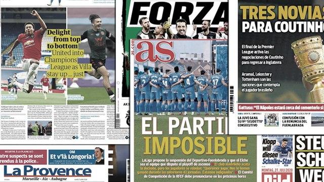 Trois portes de sorties pour Philippe Coutinho, scandale sanitaire en deuxième division espagnole