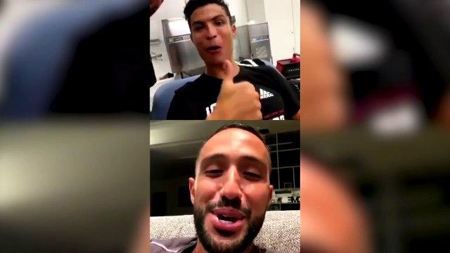 Les vidéos déjantées de CR7 dans les vestiaires apreès le sacre de la Juventus