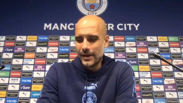 """38e j. - Guardiola : """"On voulait dire merci à David Silva"""""""