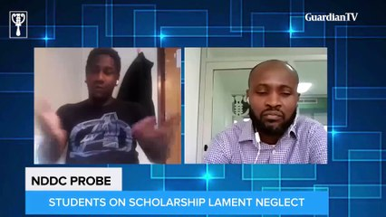 NDDC probe: Students on scholarship laments neglect || Part one