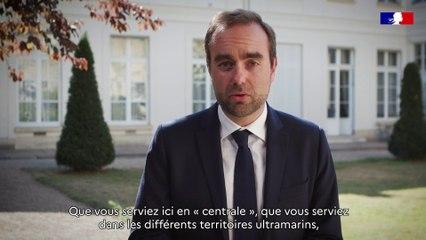 Message de Sébastien Lecornu aux agents du Ministère des Outre-mer