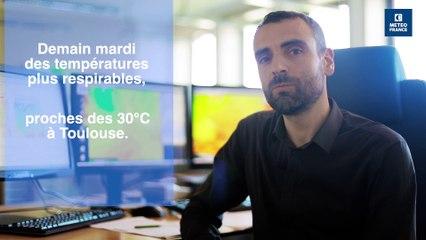 Pic de chaleur sur la France