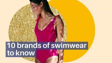 10 brands of swimwear to know