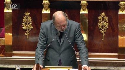 Eric Dupond Moretti soutient la proposition de loi instaurant des mesures de sûreté pour les terroristes