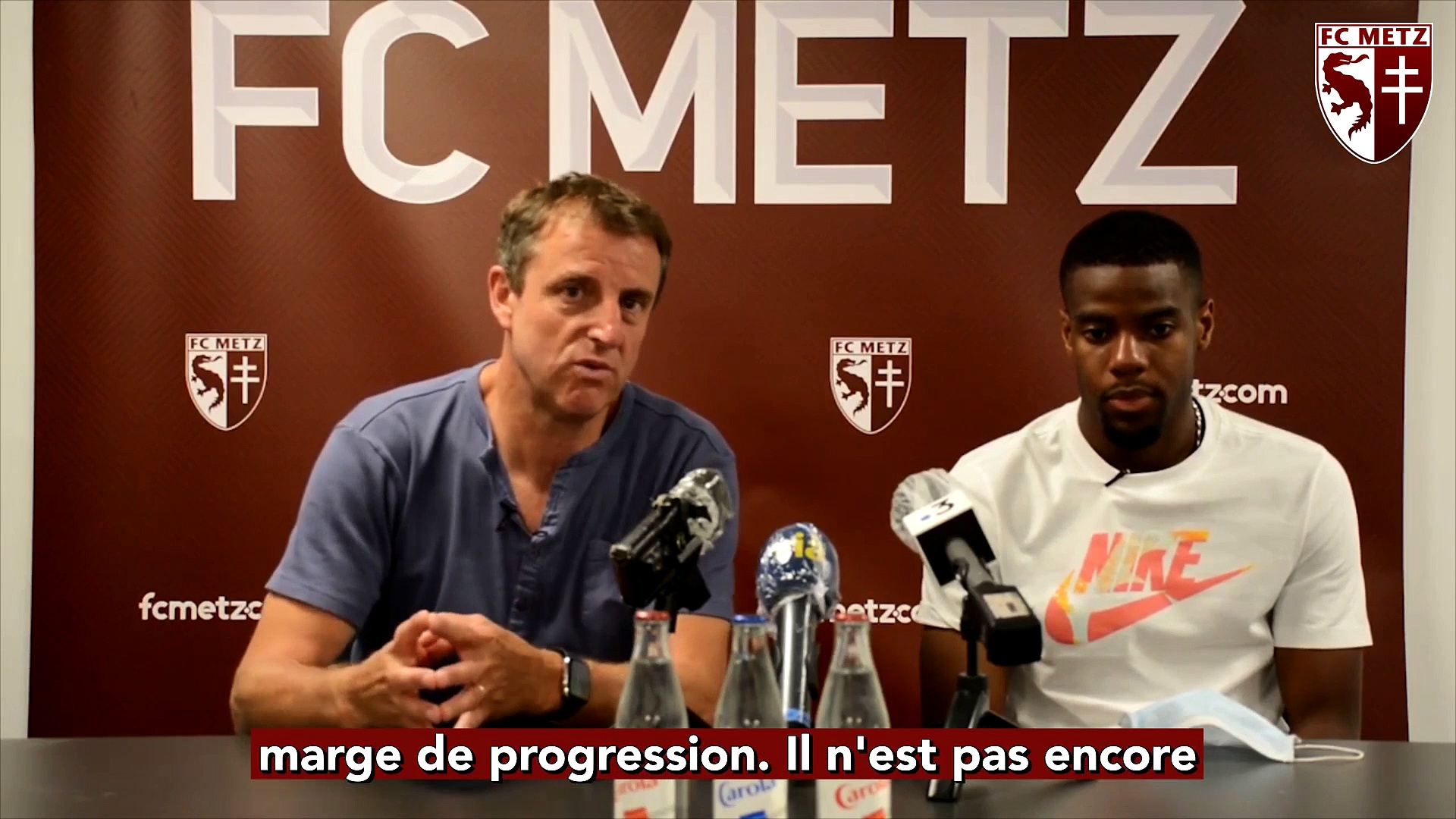Les Premiers Mots De Warren Tchimbembe En Video Football Addict