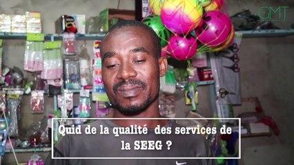 [  Vidéo ] #VÔVÔ ! Quid de la qualité des services de la SEEG ?   ✔ Des citoyens prennent la parole. #GMT
