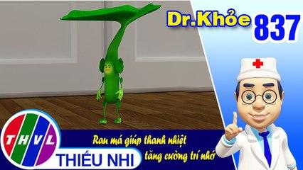 Dr. Khỏe - Tập 837: Rau má giúp thanh nhiệt tăng cường trí nhớ