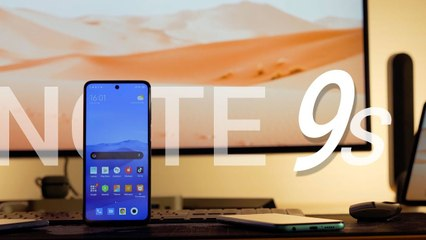 Test du Xiaomi Redmi Note 9S