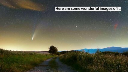 The most beautiful images of Comet Neowise