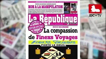 REVUE DE PRESSE CAMEROUNAISE DU 28 JUILLET 2020