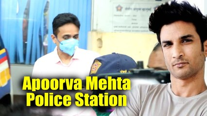 Apoorva Mehta CEO Of Dharma Production At PoliceStation, Record His Statement On Sushant Singh