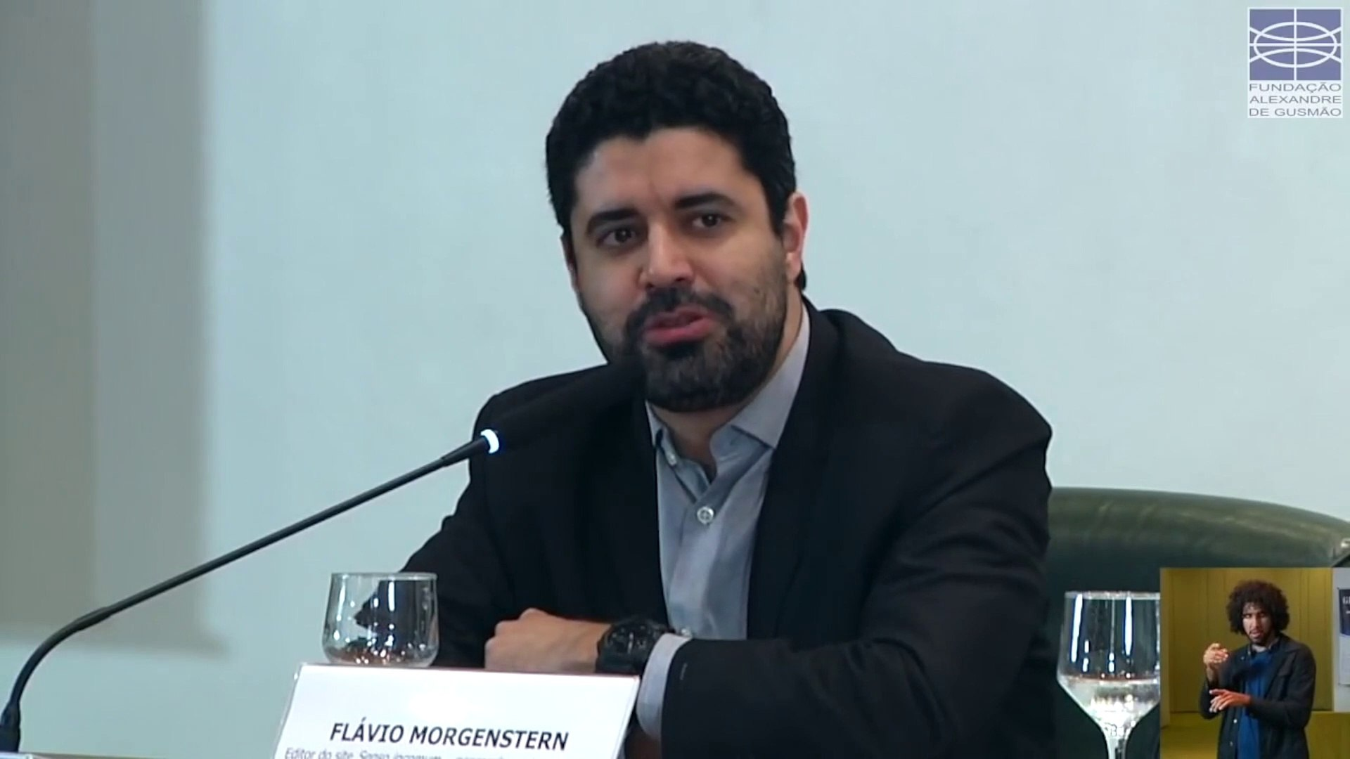 Seminário Globalismo: Flávio Morgenstern, escritor, analista político e editor do site Senso incomum (10/06/2019) - Vídeo Dailymotion