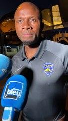 Réaction d'Omar Daf après le match amical contre le PSG