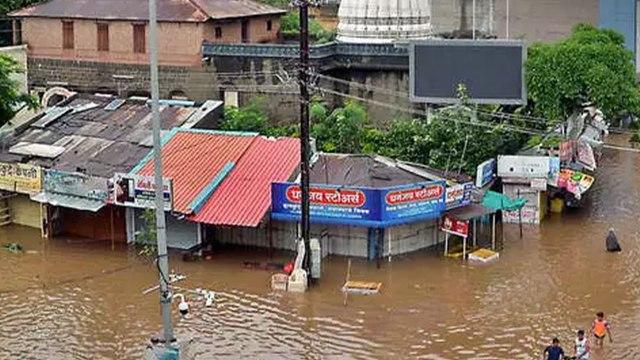 Water Level of Panchganga, Krishna Rivers Rises, Alert Issued in Sangli and Kolhapur