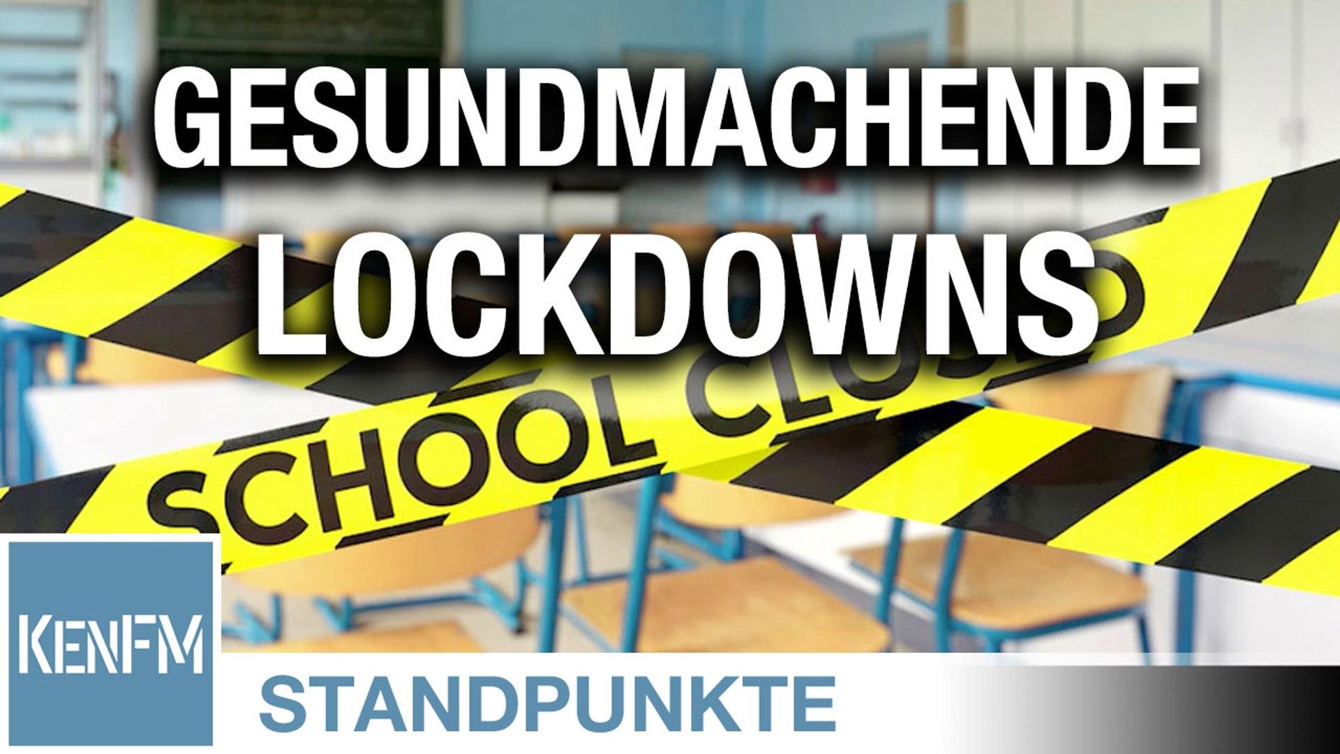 Gesundmachende Lockdowns   Von Christian Kreiß