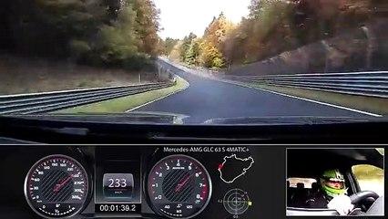La Mercedes-AMG GLC 63 S 4MATIC+ è il SUV più veloce del Nurburgring