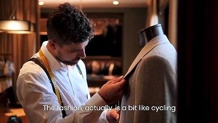 Dal ciclismo alla... moda, Peter Sagan si trasforma in sarto per il sindaco Sala