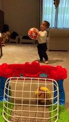 Il piccolo Alessandro Morata ha il calcio nel sangue: il figlio di Alvaro mostra doti da campione in tenerissima età
