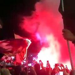 La Salernitana festeggia il centenario: tifosi scatenati