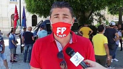 Reggio Calabria, protesta lavoratori AVR: intervista al segretario Generale CGIL Francesco Callea