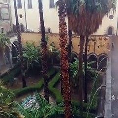 Maltempo: alluvione a Palermo nel giorno del Festino, le immagini