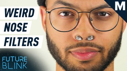 These air filters are designed for… your nostrils? — Future Blink