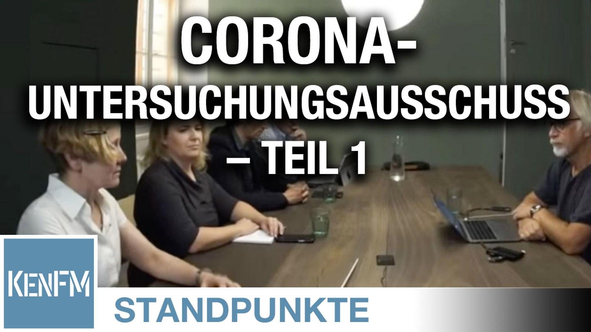 Corona-Untersuchungsausschuss – Teil 1 | Von Jochen Mitschka