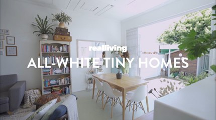 Pegs for an All-White Tiny Home