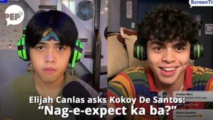 """Elijah Canlas, tinanong si Kokoy De Santos: """"Nag-e-expect ka ba?"""""""