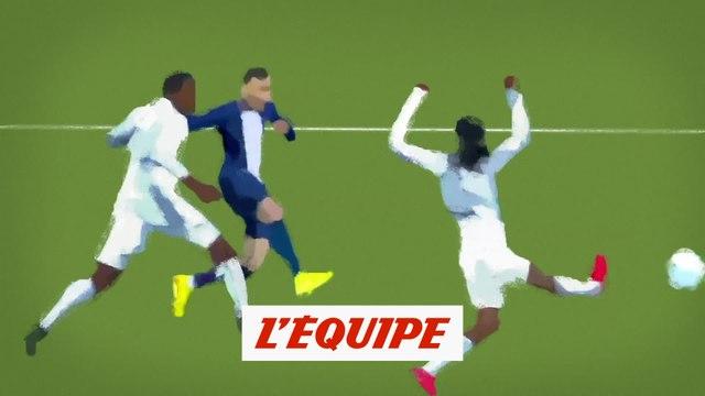 Le chef d'oeuvre de Mbappé face à Lyon - Foot - Coupe