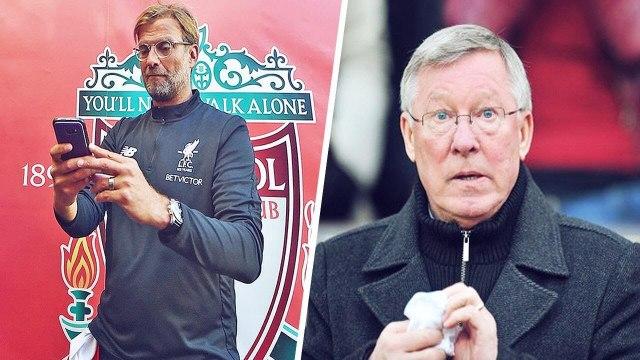 La raison pour laquelle Jürgen Klopp a appelé Sir Alex Ferguson à 3h du matin   Oh My Goal