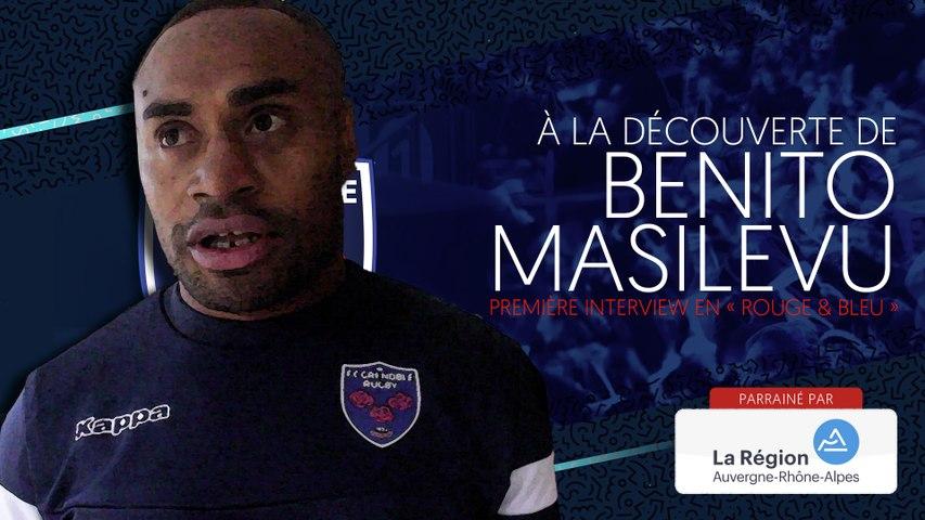 Rugby : Video - Benito Masilevu : « Grenoble, c'est comme chez moi : il y a des montagnes partout »