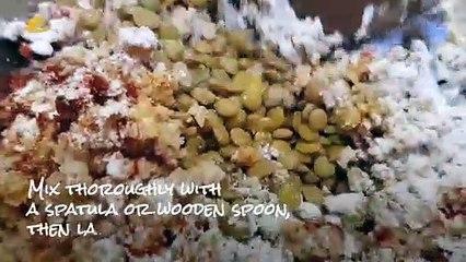 A Healthy Vegan Lentil Burger by Chef Cibbie Gonzales
