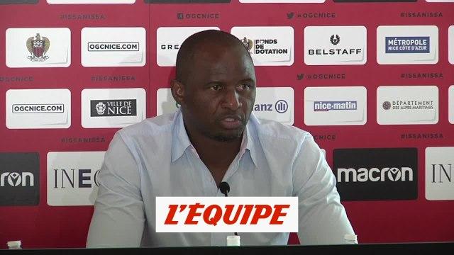 Vieira : «Un très bon souvenir de Rony Lopes» - Foot - OGC Nice