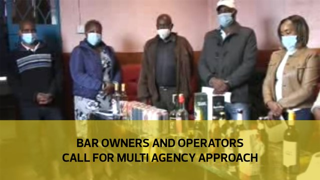 Bar owners and operators call for multi agency approach