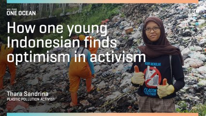 How One Young Indonesian Finds Optimism In Activism - Plastic Free July ONE OCEAN | WSL PURE