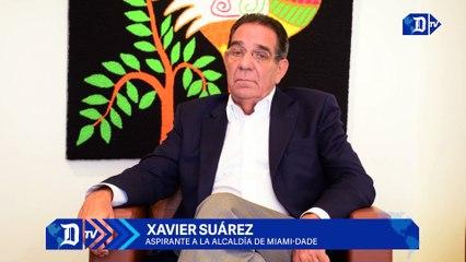 """Xavier Suárez afirma que roces entre Miami y Miami-Dade se resuelven """"hablando"""""""