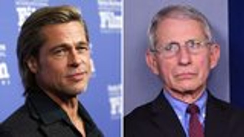 Brad Pitt Scores Emmy Nomination for Playing Dr. Fauci on 'SNL' & More News   THR News